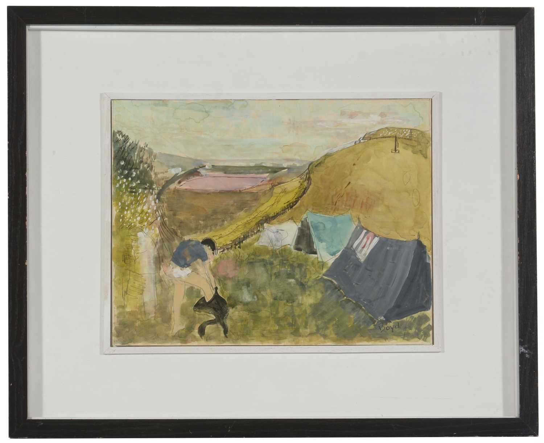 Lot 695 - John Boyd - gouache