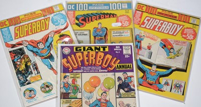 Lot 1146 - Superboy 80-Page Giant Annual, and others.