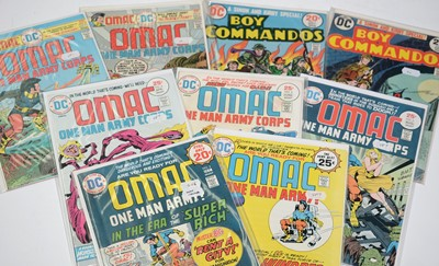 Lot 1151 - OMAC: One Man Army; and Boy Commandos Special.