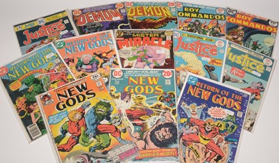 Lot 1153 - Justice Inc. and other comics.