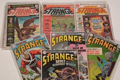 Lot 1170 - Adam Strange Adventures.