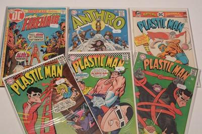 Lot 1186 - Plastic Man, Doom Patrol, and other comics.