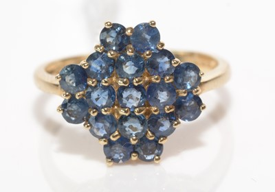 Lot 207 - A Madagascan sapphire ring.