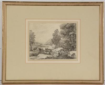 Lot 1 - British School, 18th Century - engraving