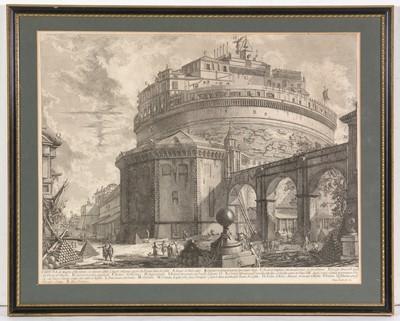 Lot 2 - After Giovanni Battista Piranesi - engraving
