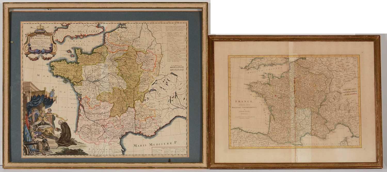 Lot 645 - 18th Century - maps.