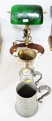 Lot 306 - German presentation cup; tankard and other items