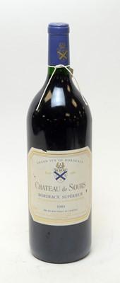 Lot 26 - Chateau de Sours Bordeaux Superior 1989