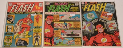 Lot 1199 - Giant Flash Annual; and The Flash (Giant).