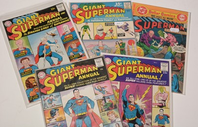 Lot 1128 - Giant Superman Annual; and Superman Spectacular.