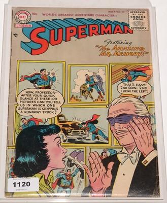 Lot 1120 - Superman.