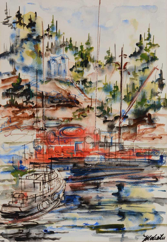 Lot 696 - Mary Wal** - watercolour
