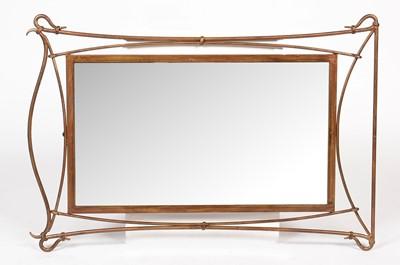 Lot 766 - A modern rectangular mirror