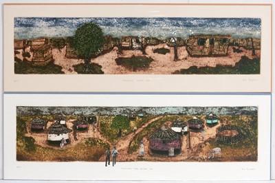 Lot 916 - Vusi Khumalo - collographs