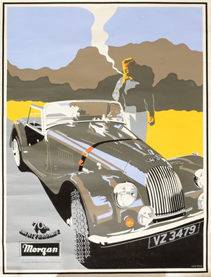 Lot 1293 - A limited-edition poster for Morgan by Ken Reed