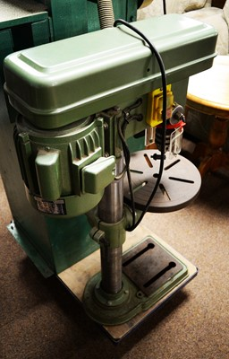 Lot 145 - An NU-Tool Group heavy-duty 16-piece drill press.