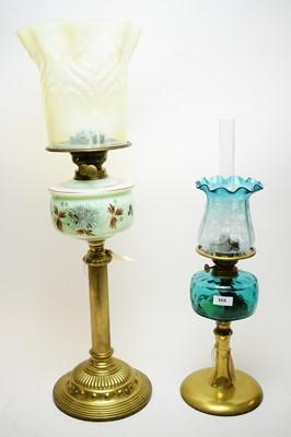 Lot 355 - Oil Lamps