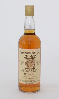 Lot 44 - Connoisseurs Choice Millburn Distillery; and Lagavulin Single Islay Malt Whisky.