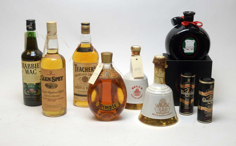 Lot 45 - Mixed whisky lot