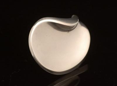 Lot 742 - Hans Hansen for Georg Jensen: sterling silver brooch