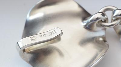 Lot 743 - Hans Hansen for Georg Jensen: sterling silver bracelet