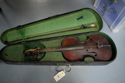 Lot 466 - A violin by Celebre Vosgien.