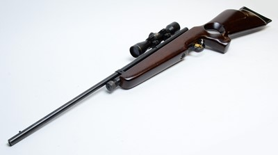 Lot 1090 - SMK TH78D, 5.5cal air rifle and fitted scope