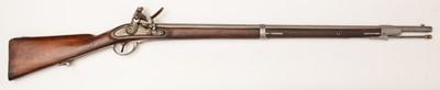 Lot 1094 - 19th Century Belgian flintlock musket
