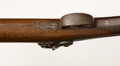 Lot 1096 - 19th Century smoothbore percussion fowling piece