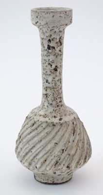Lot 711 - Lucie Rie mallet shaped vase