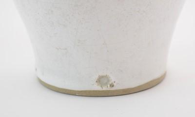 Lot 712 - Lucie Rie large trumpet shaped vase