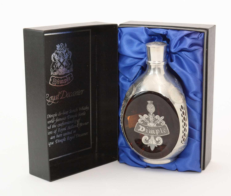 Lot 46 - Dimple Royal Decanter De Luxe Scottish Whisky.
