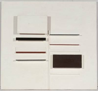Lot 984 - (Edwin John) Victor Pasmore - painted construction