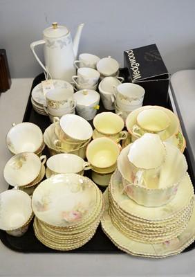 Lot 233 - A Seltmann Weiden Bavaria coffee service and other tea ware.
