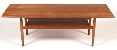 Lot 791 - A mid-20th Century teak coffee table