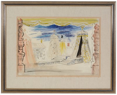 Lot 940 - John Piper - watercolour