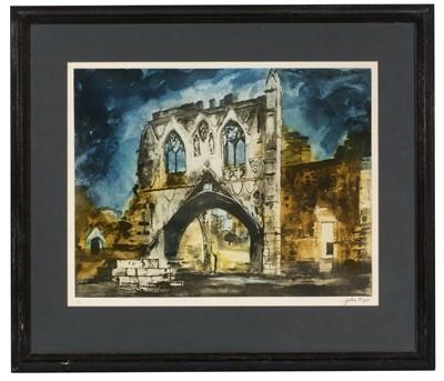Lot 896 - John Piper - etching