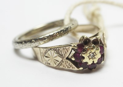 Lot 204 - Two rings