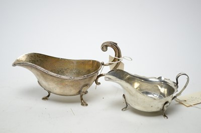Lot 173 - Two sauce boats