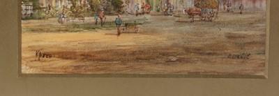 Lot 680 - E Nevil  - watercolour.