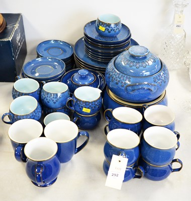 Lot 292 - A selection of Denby dinner and tea ware.
