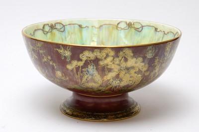 Lot 516 - Wedgwood Fairyland Lustre punch bowl