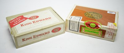 Lot 317 - Two boxes of cigars.