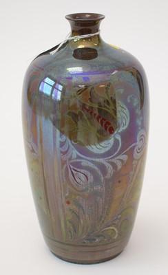 Lot 703 - Pilkingtons Royal Lancastrian Lustre Vase