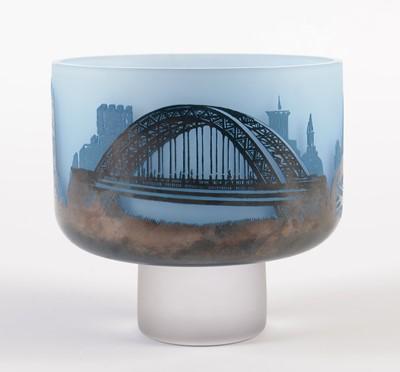 Lot 729 - Newcastle and Gateshead pedestal bowl