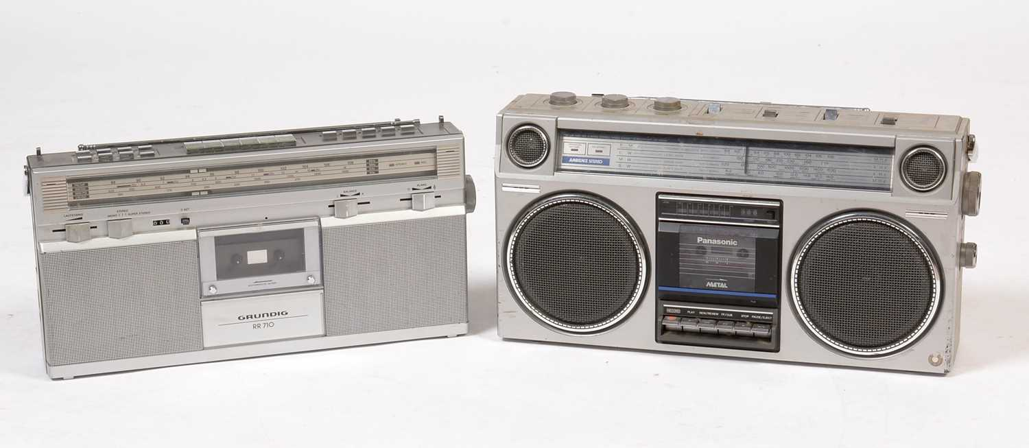 Lot 774 - Two radio cassette recorders