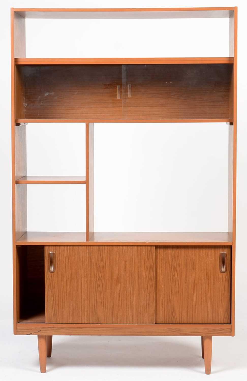 Lot 797 - A mid 20th Century melamine sitting room unit