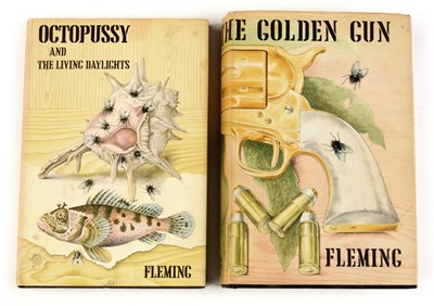 Lot 354 - Fleming (Ian), Octopussy and The Living Daylights and The Man with the Golden Gun