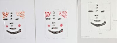 Lot 910 - Robert Hodgins - South African Contemporary prints