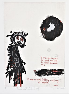 Lot 917 - Paul Molete - Justified anger ought to be left to those better qualified to handle it
